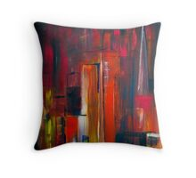 In the City Throw Pillow