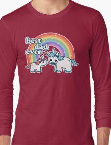 Best Unicorn Dad Long Sleeve T-Shirt