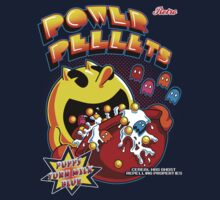 Power Pellets One Piece - Short Sleeve