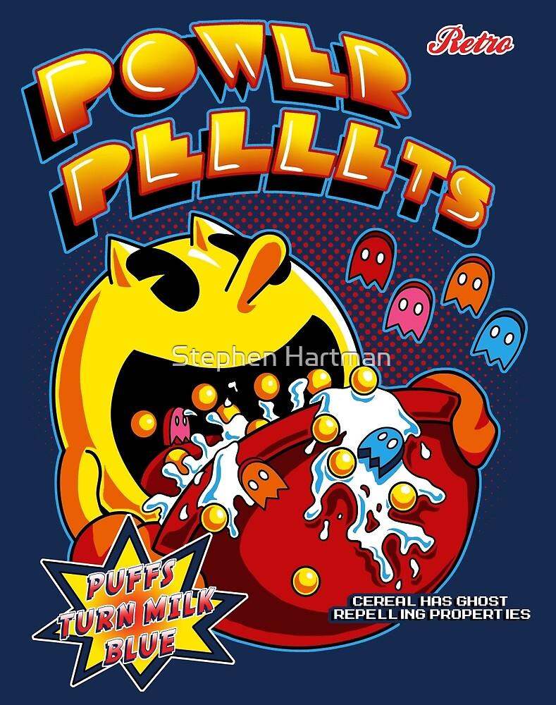 Power Pellets by Stephen Hartman