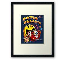 Power Pellets Framed Print