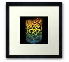 The legend of the boy with hoodie Framed Print