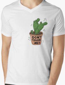 Don't Touch Me! Mens V-Neck T-Shirt