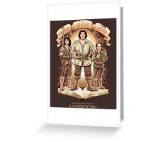 An Inconceivable Story Greeting Card