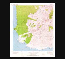 USGS TOPO Map Hawaii HI Makena 349562 1954 24000 Unisex T-Shirt