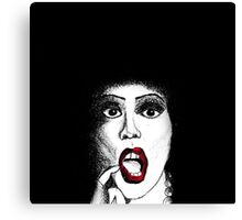 Frank n Furter - The Rocky Horror Show Canvas Print