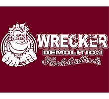 Wrecker Photographic Print
