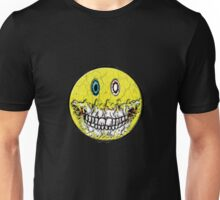 Zombie Smiley Unisex T-Shirt