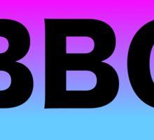 BBG sticker Sticker