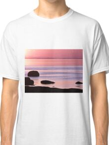 Lines in the Sea Classic T-Shirt