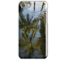 Whimsical Tropical Reflections iPhone Case/Skin