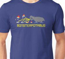 Monsterpotamus Pixel Unisex T-Shirt
