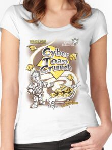 Cyber Toast Crunch Women's Fitted Scoop T-Shirt