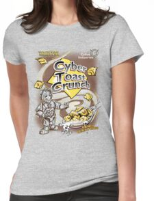 Cyber Toast Crunch Womens Fitted T-Shirt