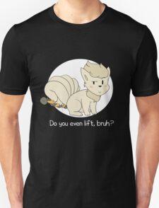 do you even lift, bruh? (ninetales) Unisex T-Shirt