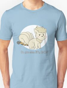 do you even lift, bruh? (ninetales) Unisex T-Shirt