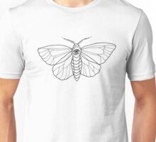 Moth B&W Unisex T-Shirt