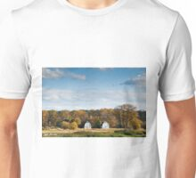 Twin Barns in the Fall Unisex T-Shirt