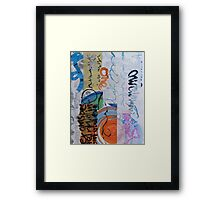 Bookish Things and Oneness Framed Print