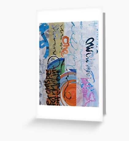 Bookish Things and Oneness Greeting Card