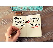 Good Product Photos  Photographic Print