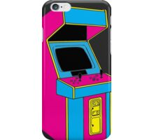 Stand Up, Old School Arcade Game (CMYK) iPhone Case/Skin