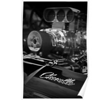 Blown Chevy Chevelle Poster