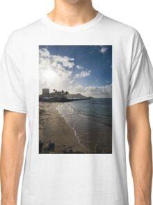 Sun, Sand and Waves - Waikiki, Honolulu, Hawaii Classic T-Shirt