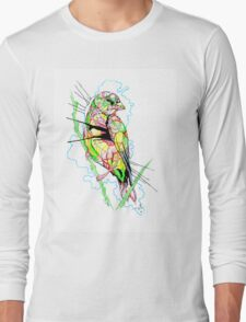 Abstract Bird 01 Long Sleeve T-Shirt