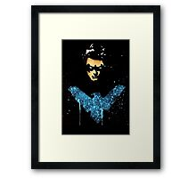 Night Wing Framed Print