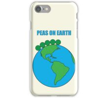Peas On Earth iPhone Case/Skin