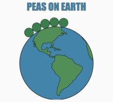 Peas On Earth One Piece - Short Sleeve