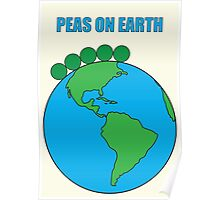 Peas On Earth Poster