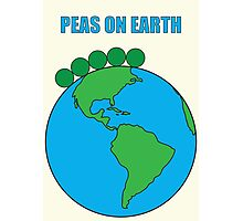 Peas On Earth Photographic Print