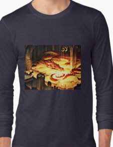 The Hoard of Smaug in Erebor Long Sleeve T-Shirt