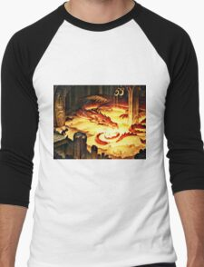 The Hoard of Smaug in Erebor Men's Baseball ¾ T-Shirt