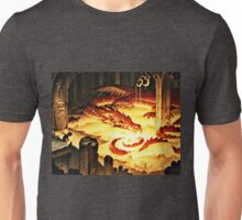 The Hoard of Smaug in Erebor Unisex T-Shirt