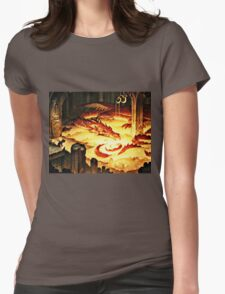 The Hoard of Smaug in Erebor Womens Fitted T-Shirt