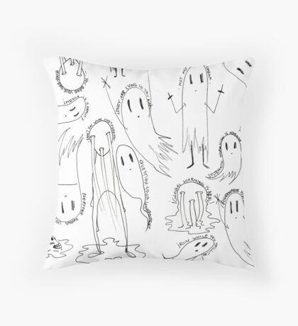 the political undead Throw Pillow