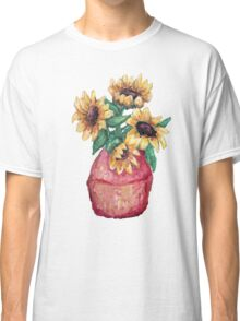 Sunflower Vase II Classic T-Shirt