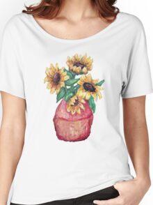 Sunflower Vase II Women's Relaxed Fit T-Shirt