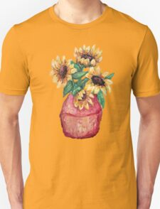 Sunflower Vase II Unisex T-Shirt