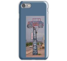 Old Benson Motel Sign iPhone Case/Skin