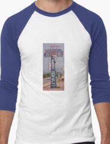 Old Benson Motel Sign Men's Baseball ¾ T-Shirt