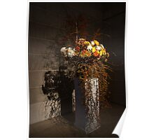 Displaying Mother Nature's Autumn Abundance of Flowers and Colors Poster