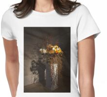 Displaying Mother Nature's Autumn Abundance of Flowers and Colors Womens Fitted T-Shirt