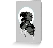 Panther Greeting Card