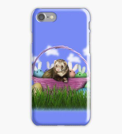 Easter Ferret iPhone Case/Skin