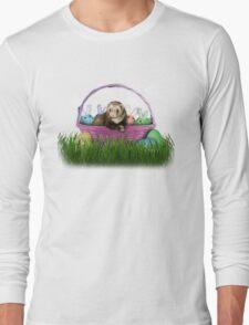 Easter Ferret Long Sleeve T-Shirt