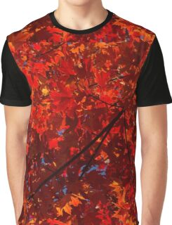 Red, Red and Red Graphic T-Shirt